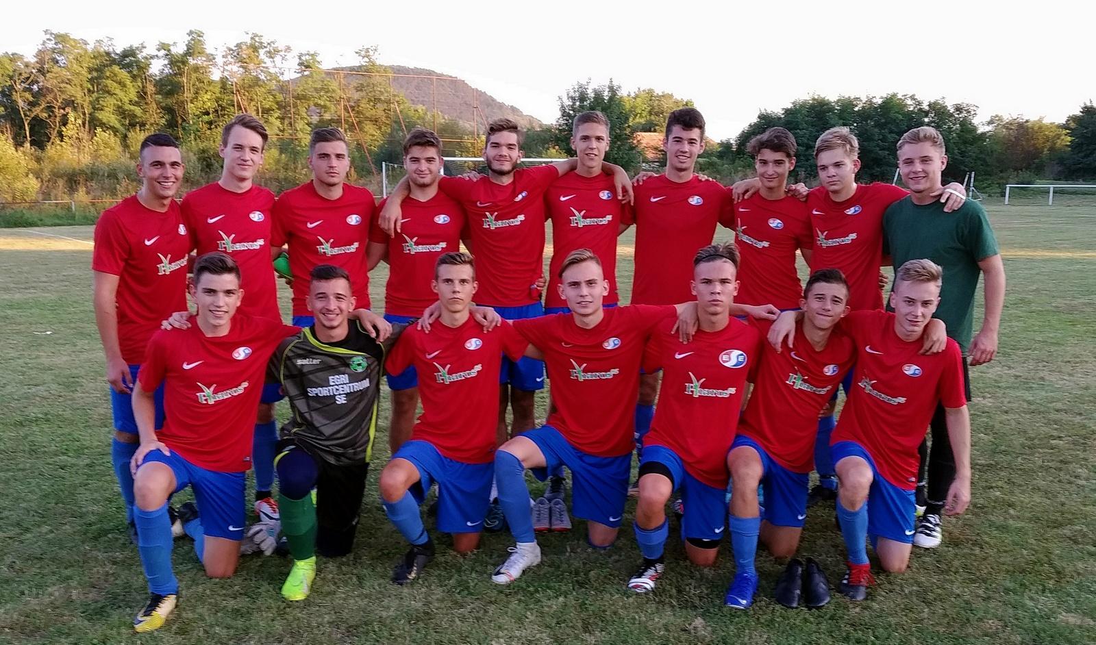 U19 – Tállya KSE – Eger SE 0-3 (0-1)