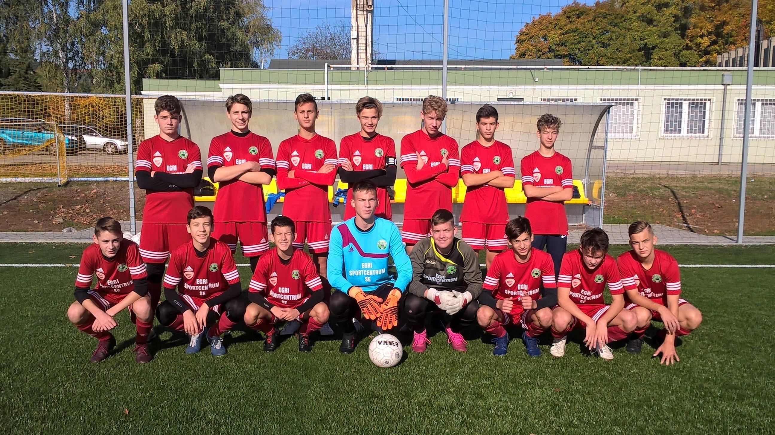 U17 – KBSC – Eger SE 2-1 (0-1)