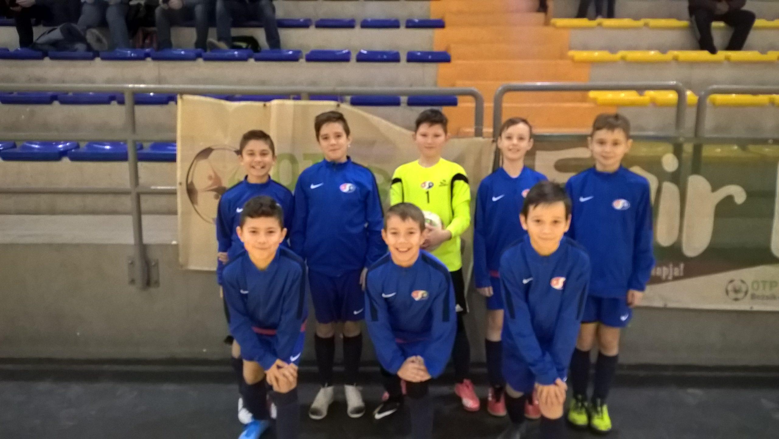 U11 – Ragyogó összjáték és eredményesség a Bozsik Futsal Tornán Hevesen