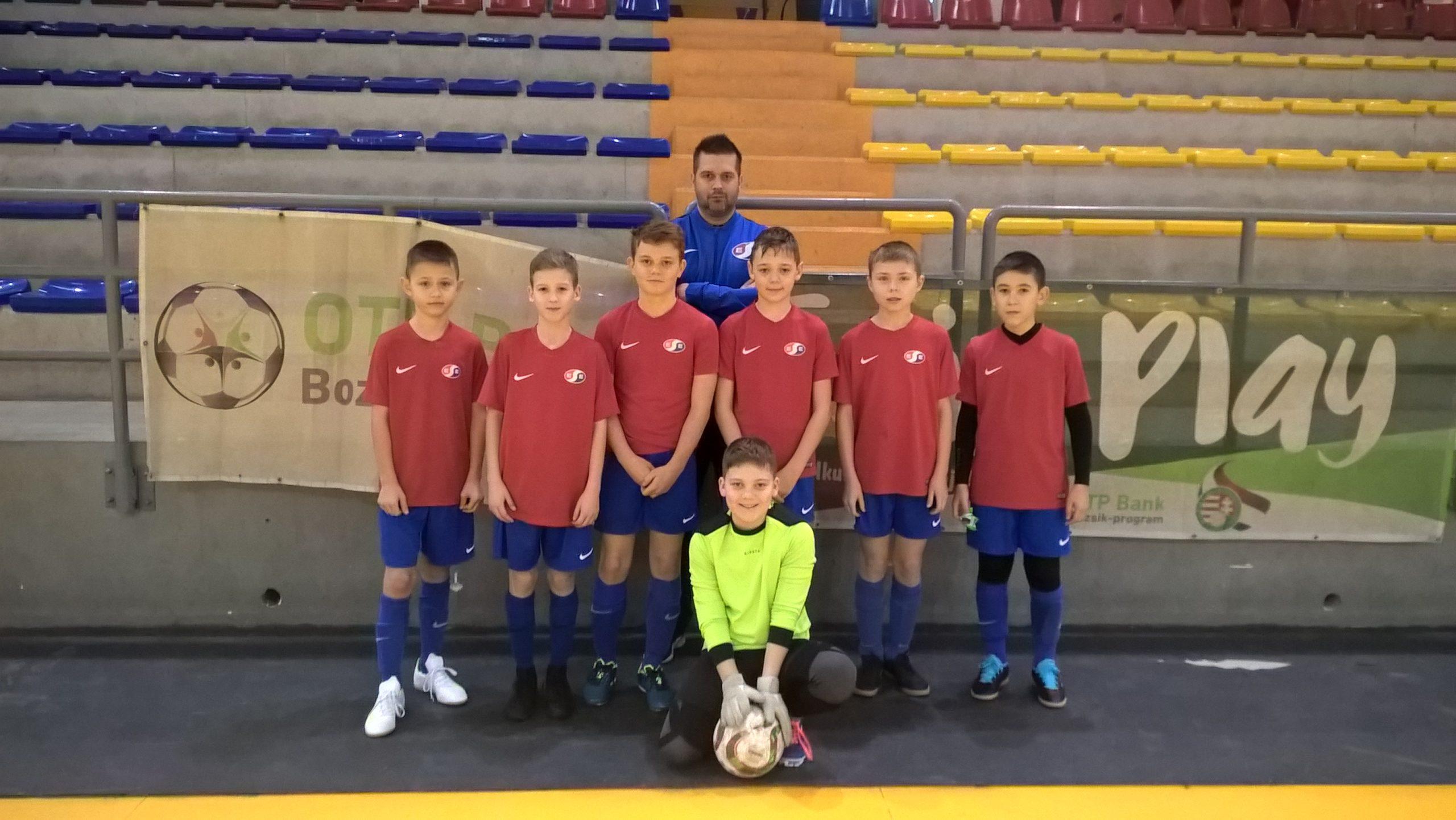 U13 – Hibátlan teljesítmény a hevesi Bozsik Futsal Tornán