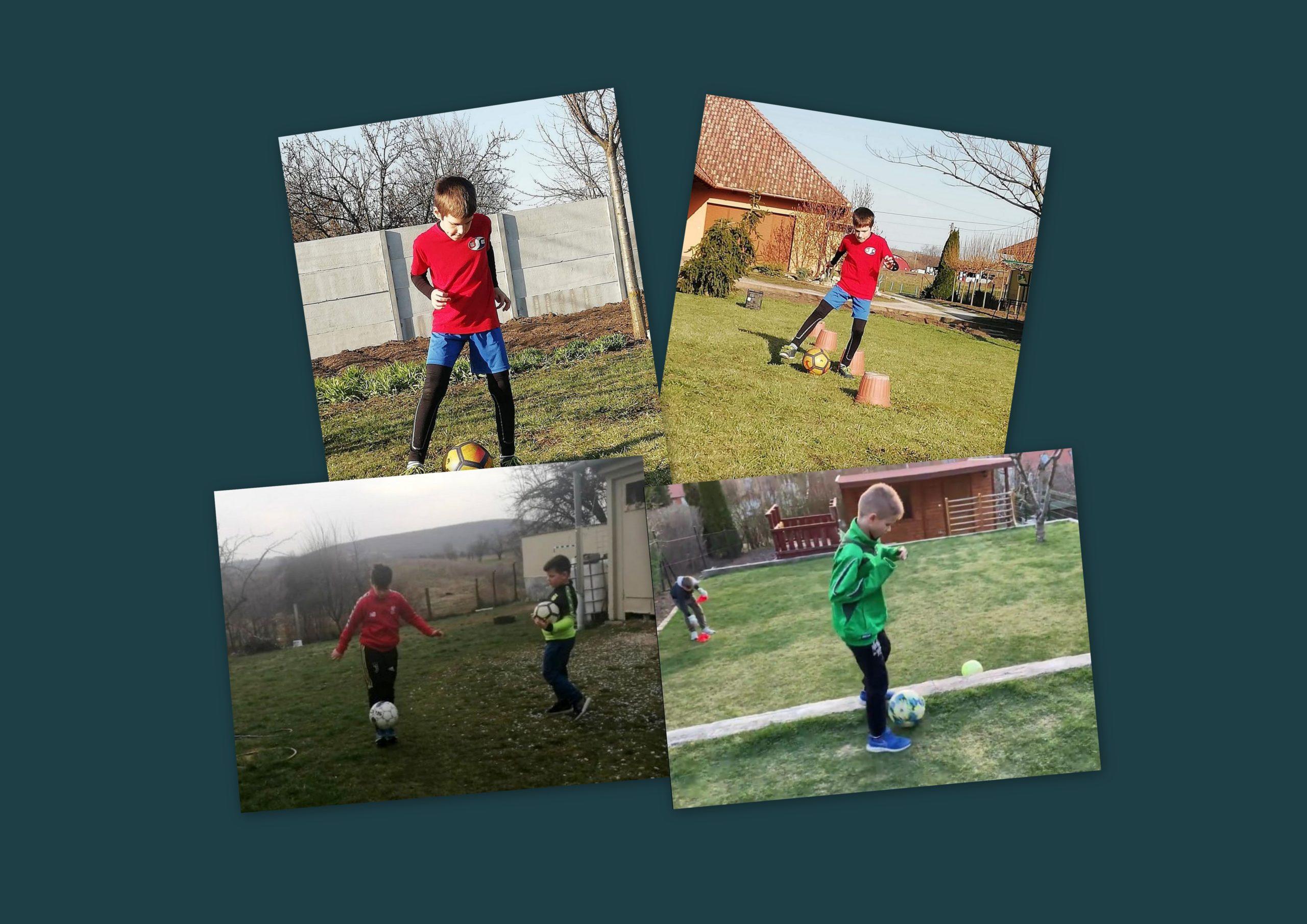 U10 – Otthoni tanulás és edzés az utánpótlás csapatunknál
