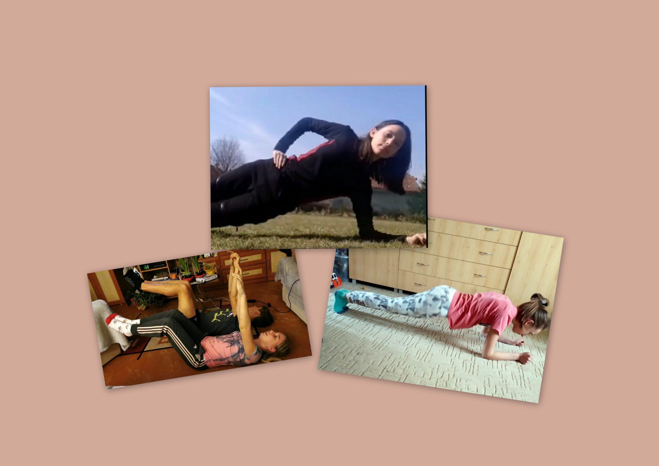 U14 leány – Lányaink sem tétlenkednek a kényszerszünet alatt