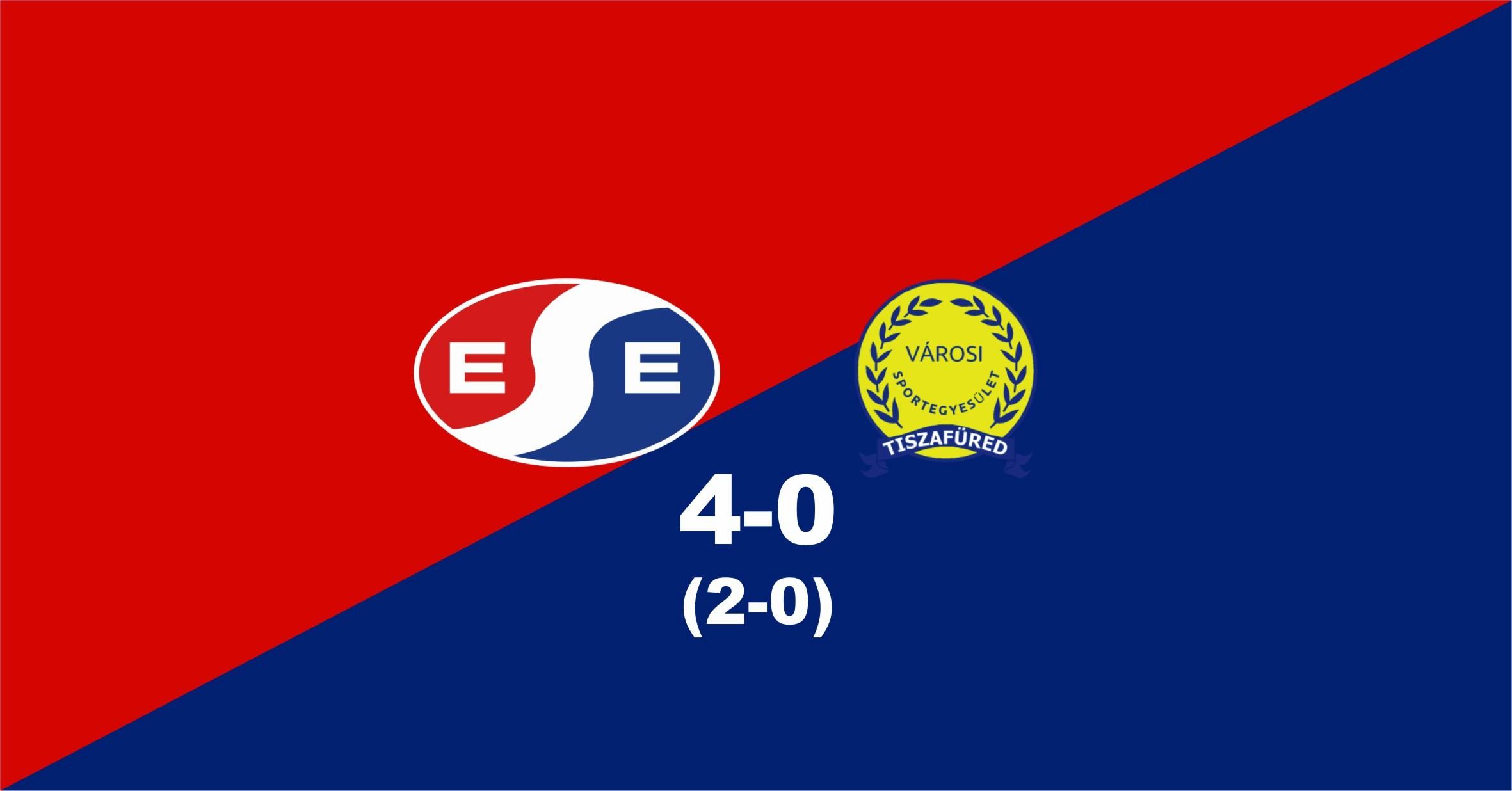 NB III. – Magabiztos győzelem a Tiszafüredi VSE ellen
