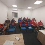 Edzői értekezlet az Eger SE-nél