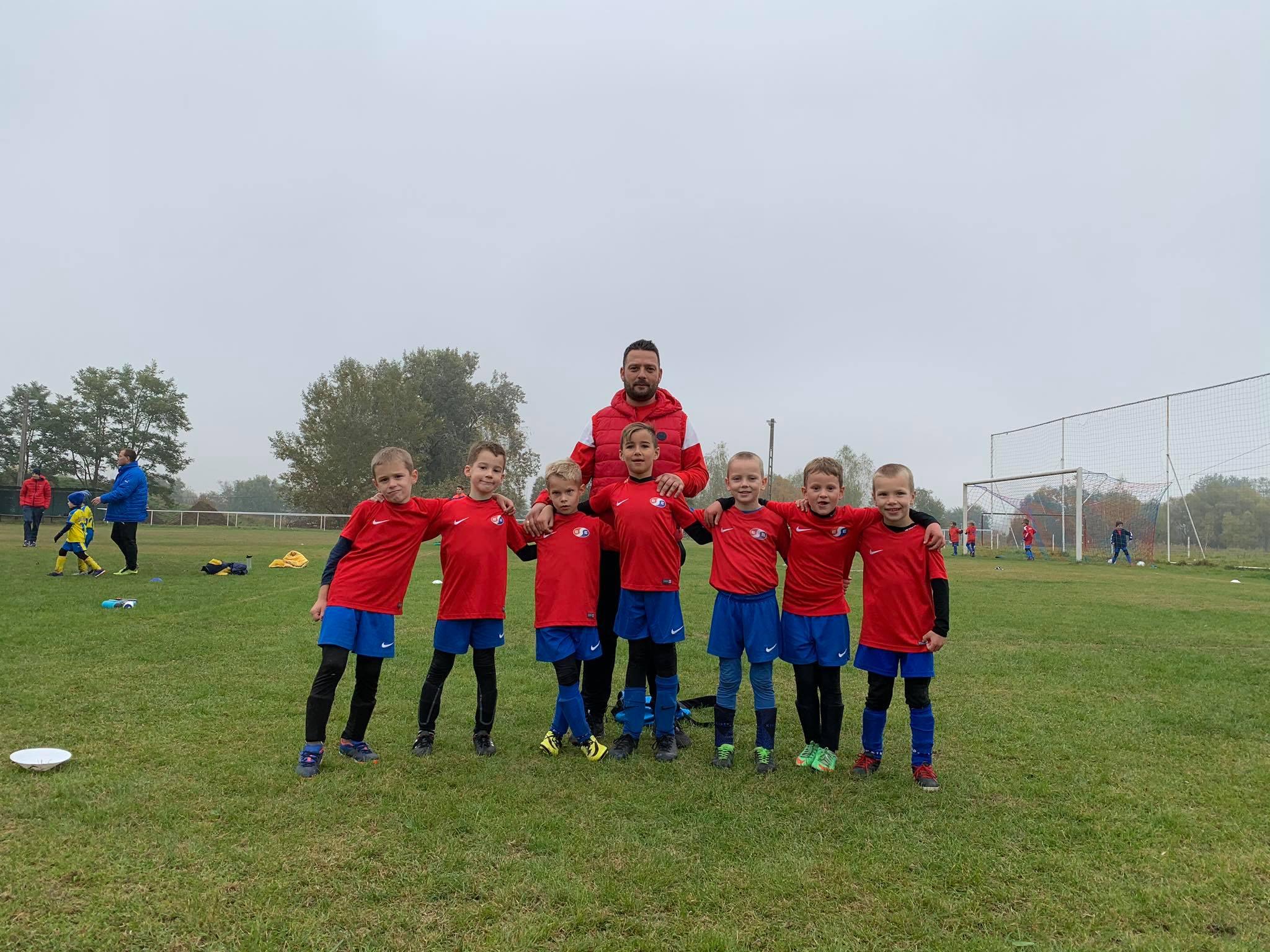U7 – Kis csapatunk Sződön vettek rész focitornán