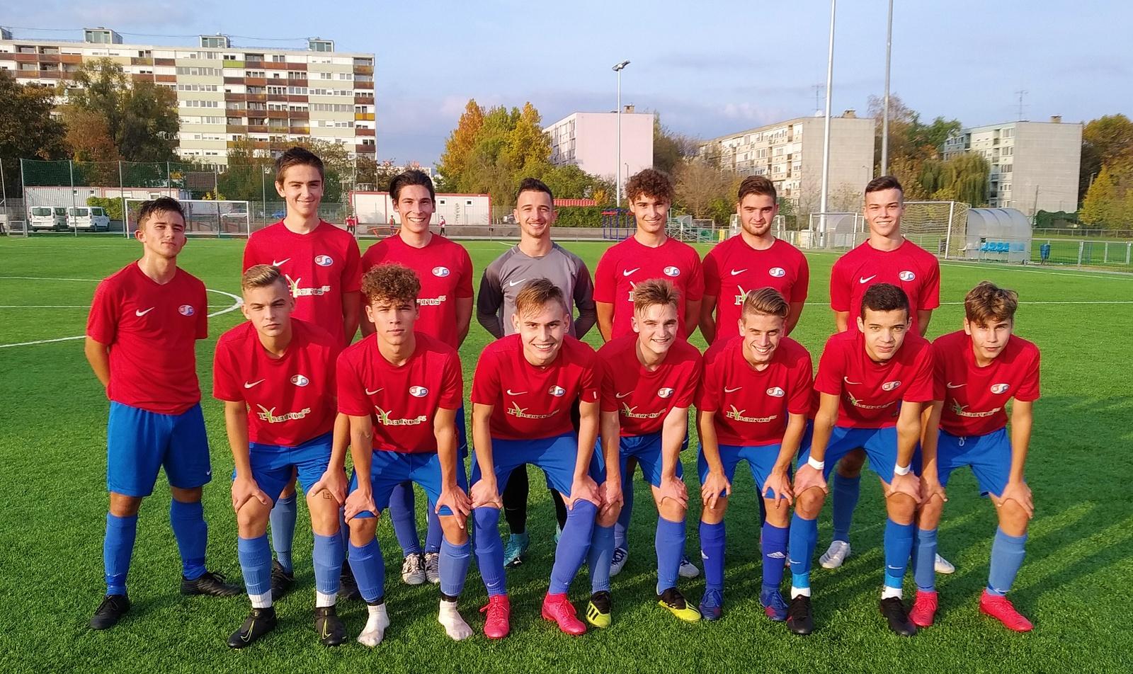 U19 – Győzelem a hétközi fordulóban a Jászberényi FC ellen