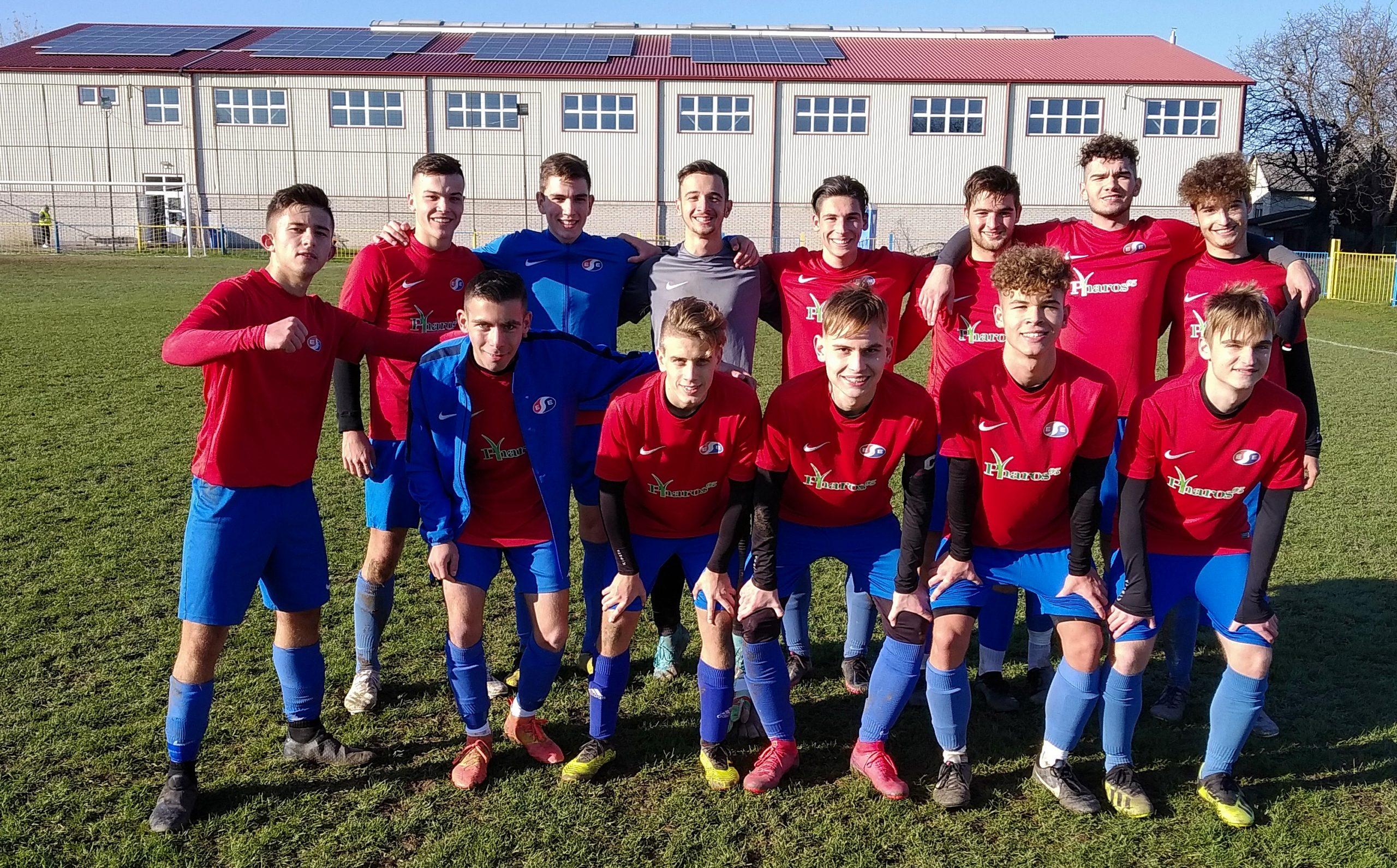 U19 -Győzelemmel tértünk haza Alsózsolcáról