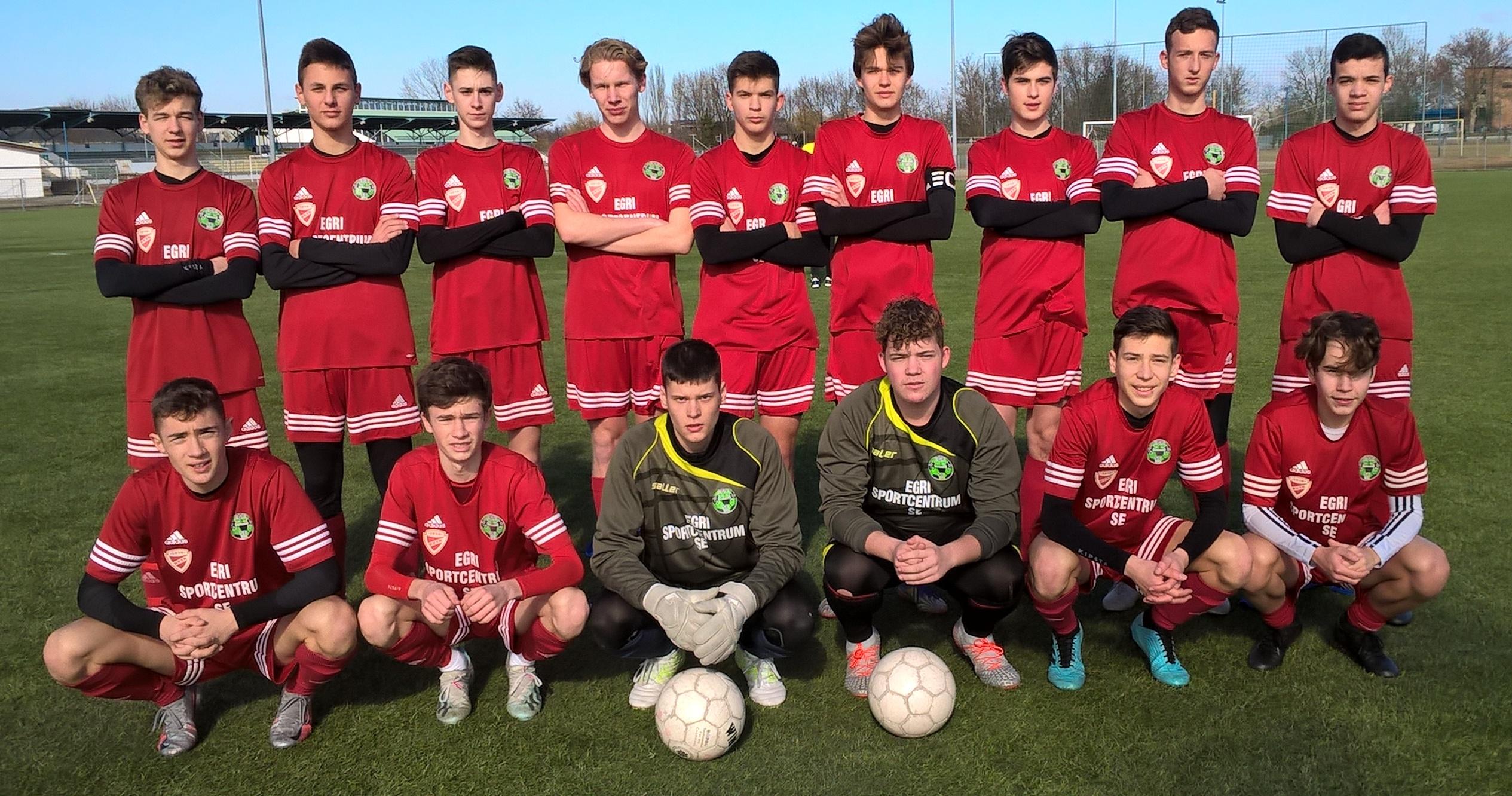 U17 – Nem sikerült a pontszerzés az FC Tiszaújváros vendégeként