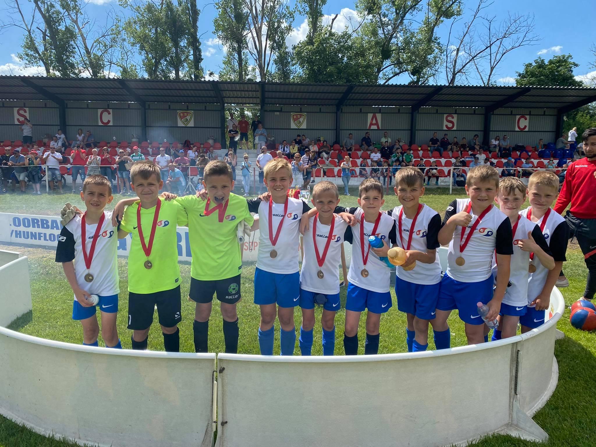 U9 – Negyedik hely az almásfüzitői Futballáb Trophy Kupán